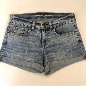 [Old Navy] Boyfriend Cuffed Jean Shorts
